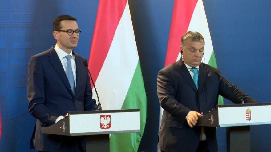 Macaristan ve Polonya'dan göçe karşı ortak tavır