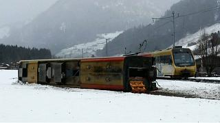 Непогода в Швейцарии