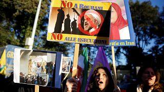 الاحتجاجات في ايران