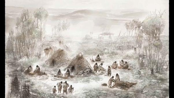 İlk insanlar Amerika'ya yürüyerek gitmiş