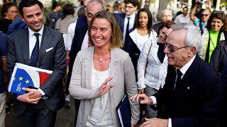 European Union's top diplomat on Cuba visit