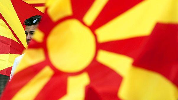 Bandiera dell'Ex Repubblica Jugoslava di Macedonia