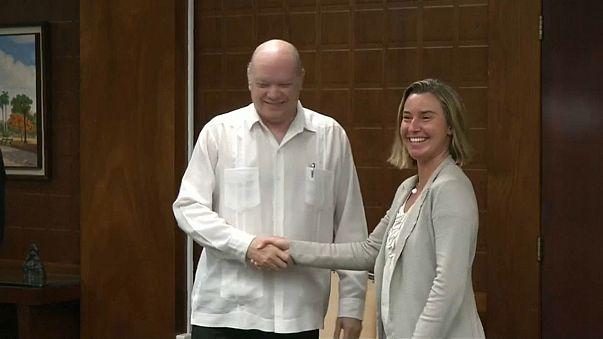 AB'den Küba'ya tam destek ve işbirliği