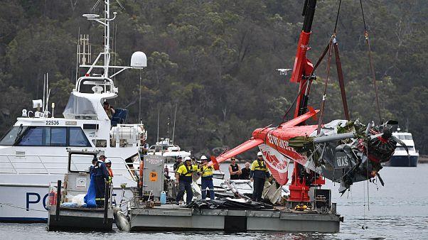 Kiemelték a hidroplán roncsát Ausztráliában