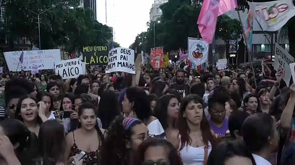 Brazilian women speak out on plan to further restrict abortion