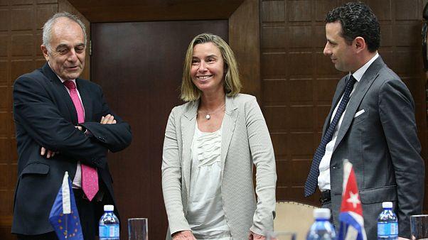 União Europeia e Cuba fortalecem relações