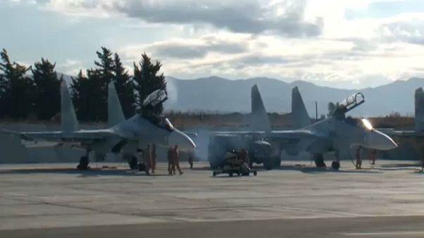 Η Μόσχα διαψεύδει την καταστροφή επτά πολεμικών αεροσκαφών από επίθεση ανταρτών