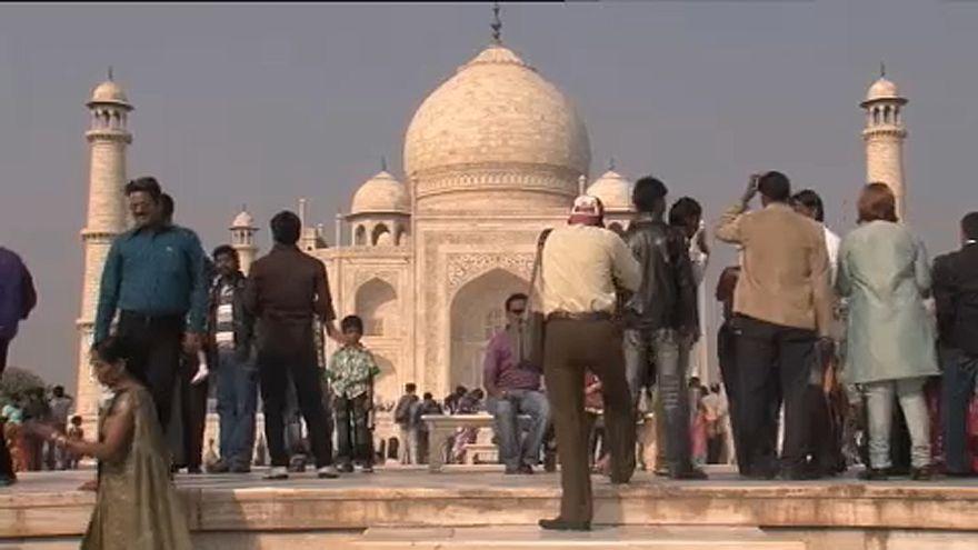 Tádzs Mahal: Kevesebb látogató