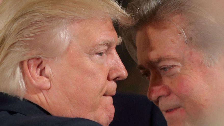Trump'tan eski başstratejisti Bannon'a tepki
