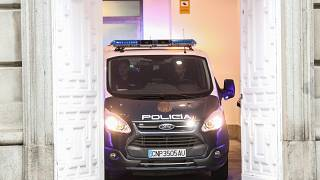 police car court madrid