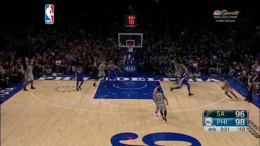 NBA: Sixers gewinnen gegen San Antonio Spurs