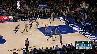 NBA heyecanı sürüyor