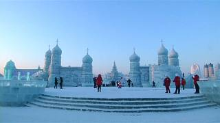 Harbin Ice and Snow Sculpture Festival includes more than 2,000 items
