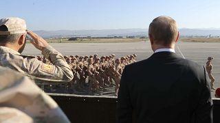 putin at syria air base