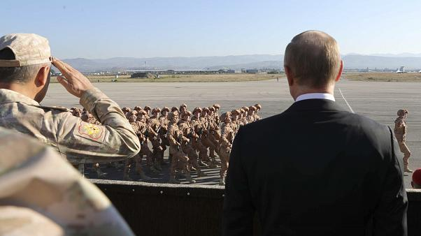 putin at syria air base