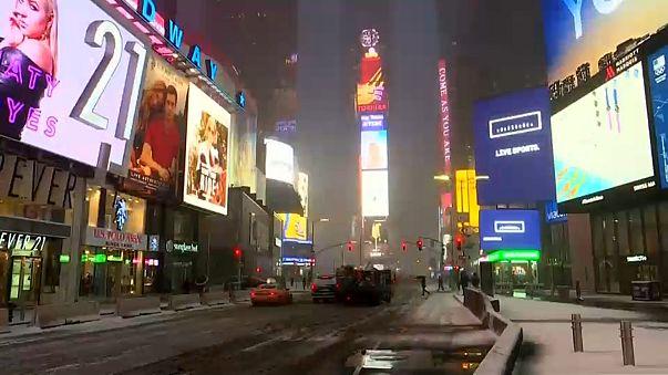 La Grande Mela e la magia della neve