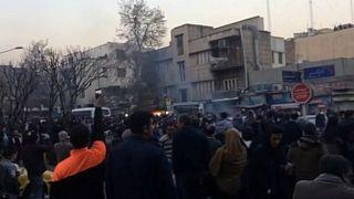 اعتراضات اخیر در ایران