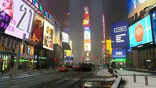 I love (brrr) New York