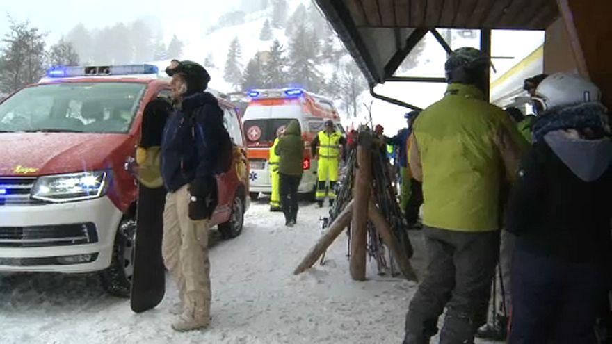 Anya és lánya haltak meg egy lavina miatt