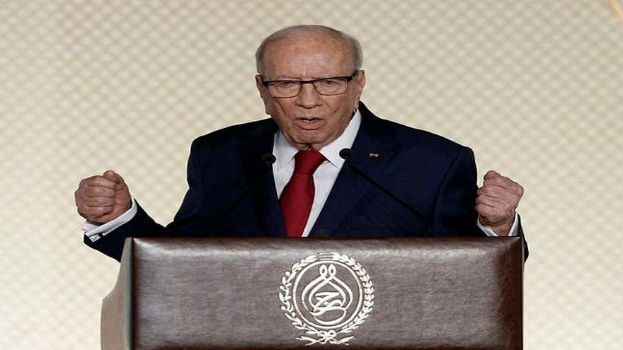 محكمة تونسية تأمر بسجن شخصين نشرا خبر وفاة الباجي قايد السبسي