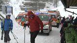 soccorso alpino sulle piste da sci