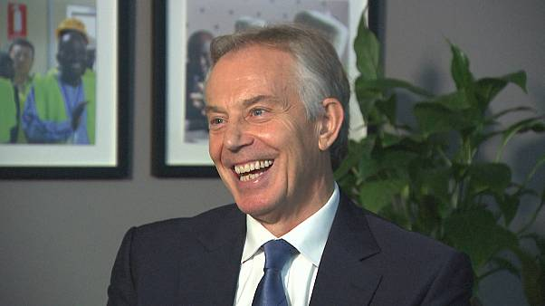 ITW Tony Blair NBC