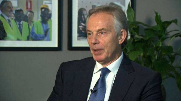 Tony Blair im euronews-Interview