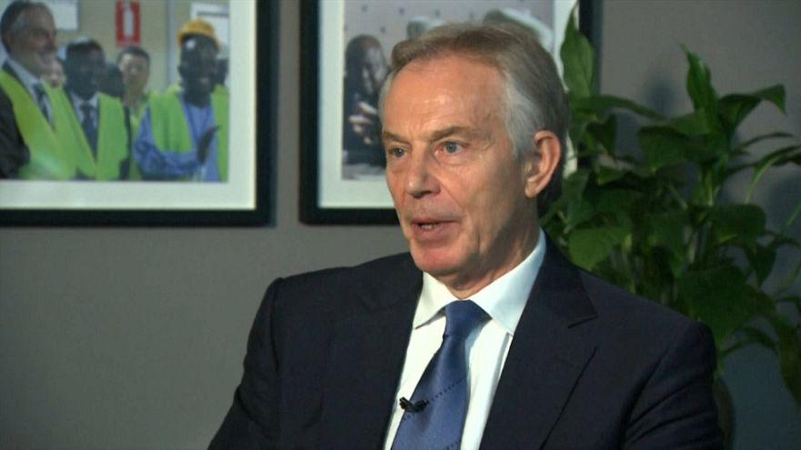 Tony Blair im euronews-Interview
