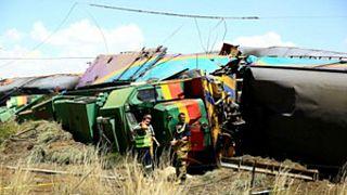 Νοτια Αφρική: Πολύνεκρο σιδηροδρομικό δυστύχημα