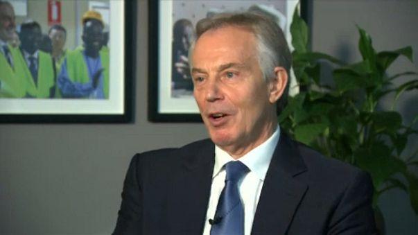 Blair, 'Trump'ı uyardığı' iddiasını yalanladı