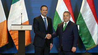Budapesten járt az ír miniszterelnök