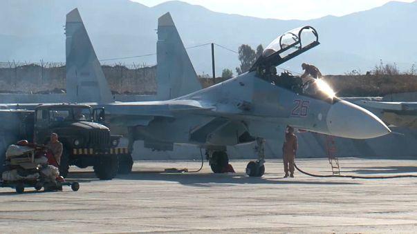 Kremlin nega destruição de aviões russos na Síria