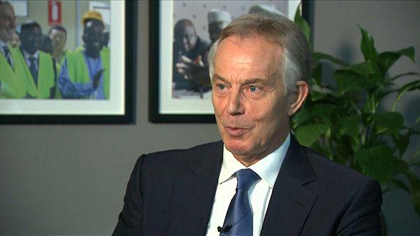 Интервью с Тони Блэром о скандальной книге про Трампа