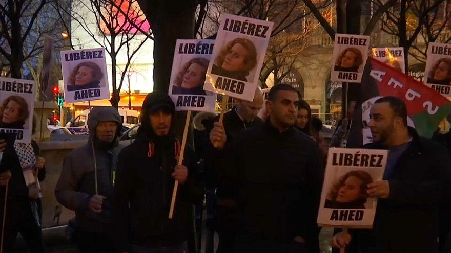 باريس: مسيرة من أجل إطلاق سراح الفلسطينية عهد التميمي