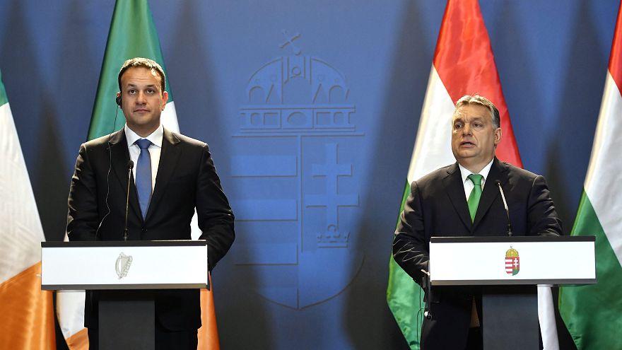 Budapesten tárgyalt az ír miniszterelnök