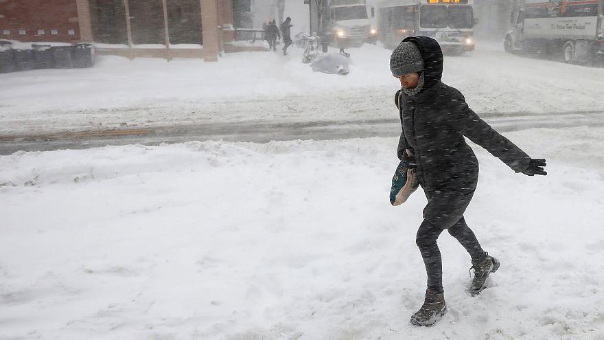 Rendkívüli havazás az Egyesült Államokban