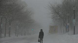 Froid polaire aux Etats-Unis