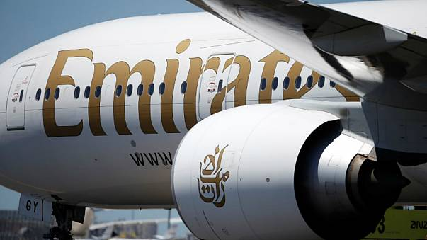 طائرة طيران الإمارات