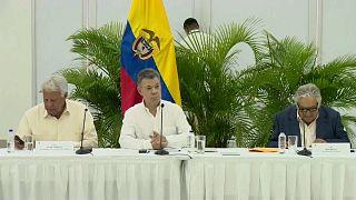 Kolombiya'da zorlu barış süreci