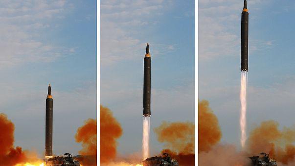 سقوط صاروخ بالستي عن طريق الخطأ في كوريا الشمالية