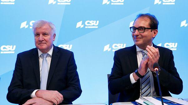 CSU-Chef Horst Seehofer und Ex-Verkehrsminister Alexander Dobrindt.