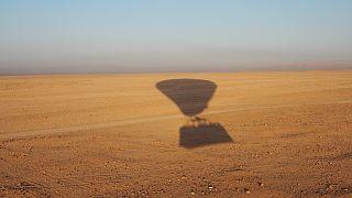 Symbolbild: Fesselballon bei Luxor.