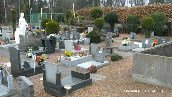 Il cimitero di animali a Liegi, Belgio