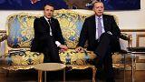 دیدار رهبران فرانسه و ترکیه تحت تاثیر فشار سازمانهای حقوق بشری