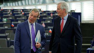 #AskBarnier: Farage reveals questions he'll ask Barnier ahead of meeting