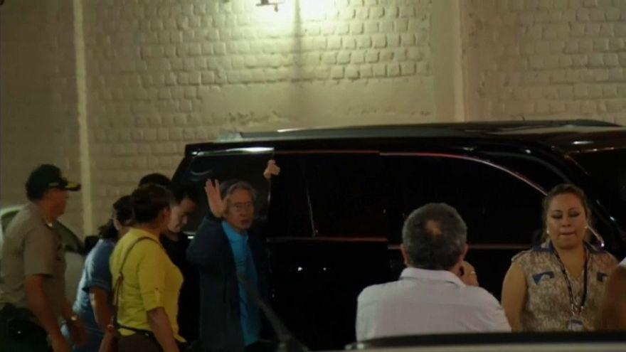 Fujimori lascia la clinica in cui era ricoverato