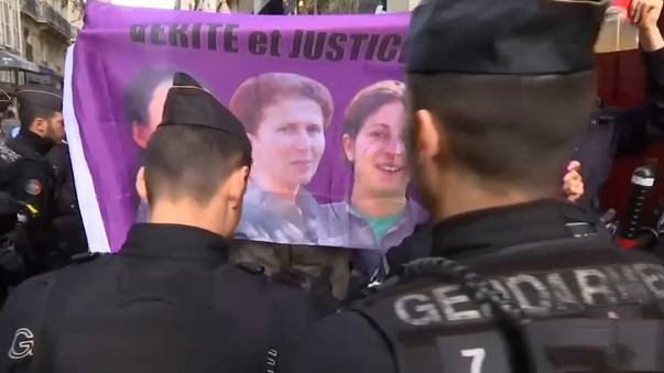 Paris'te Erdoğan'a karşı Kürt Eylemi