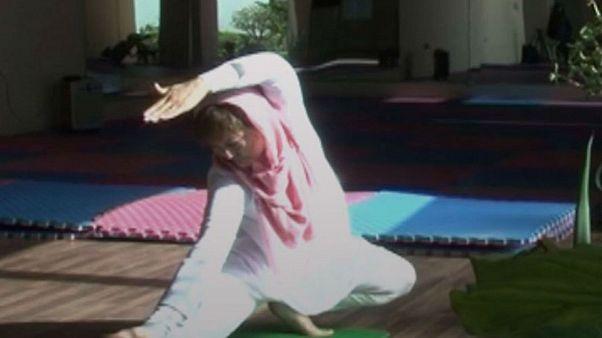'Yoga improves morale and self-esteem,' Afghan women tell Euronews