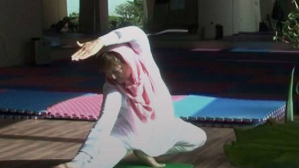 'Yoga improves morale and self-esteem,' Afghan women tell Euronews