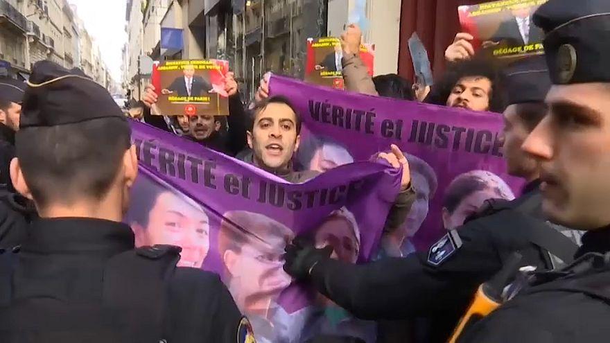 paris kurd demo - grab from sujet